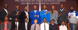 Click to view album: 2015 MLK Oratorical Contest